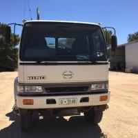 Hino FT Spray Truck 133,000km, 4WD, 3800L Tank, Stalker fill & pressure pump