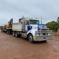 Kenworth T408 Prime Mover with Tipper Body 2008 Reg: CGG5196 Condition : Excellent